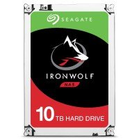 "Seagate IronWolf 10TB NAS Hard Drive 3.5"" SATA III 6GB's 7200RPM 256MB Cache"