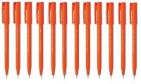 Pentel Ultra Fineliner Red Pen (12 Pack) S570-B