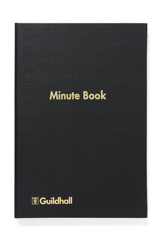 Guildhall Minute Book Indexed 160 Pages (Pack of 1)