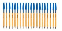 Q-Connect Fine Blue Ballpoint Pen (Pack of 20)