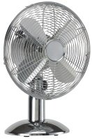 "HQ Table Fan 12 "" 35 W Chrome Silver"