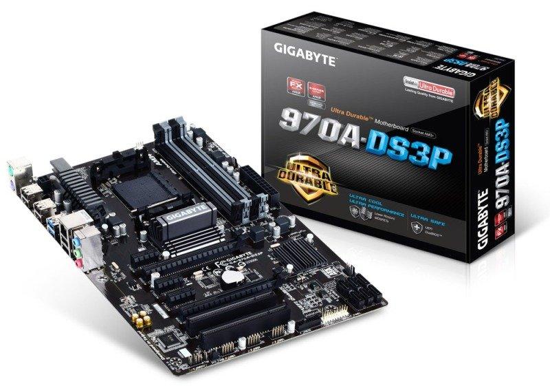 Gigabyte 970A-DS3P Socket AM3+ ATX Motherboard