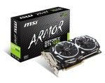 MSI GTX 1060 ARMOR 3G OCV1 GDDR5 Graphics Card