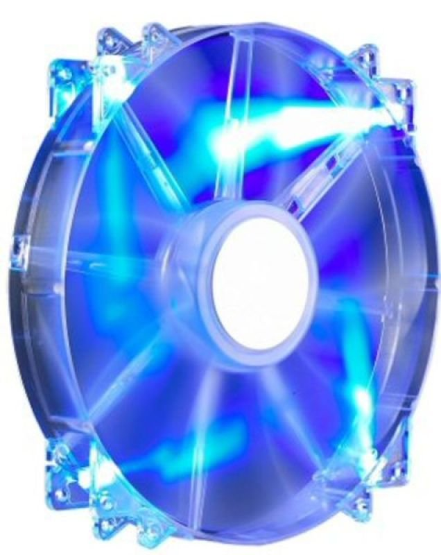 Cooler Master MegaFlow 200 Blue LED Fan - 200mm, 700RPM