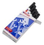 Edding Paintmarker Opaque Black 750 - 10 Pack