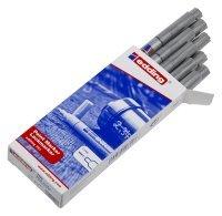 Edding 751 Fine Bullet Tip Silver Paint Marker (10 Pack