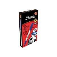 Sharpie Blue Permanent Marker Fine (Pack of 12)