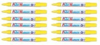 Artline Marker Medium Point Yellow 400 - 12 Pack