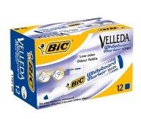 Bic Drywipe Marker Bullet Blue 701068 - 12 Pack