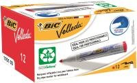 Bic Drywipe Marker Bullet Red 701037 - 12 Pack