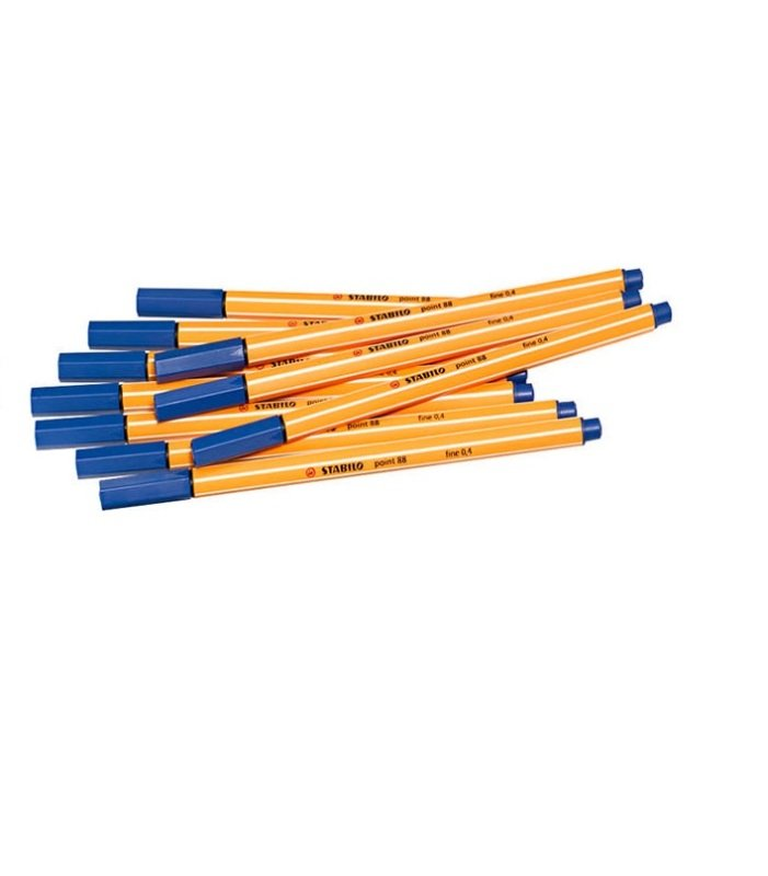 Stabilo Point88 Fineliner Blue 88/41 - 10 Pack