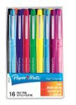 Papermate Assorted Flair Fibre Tip (Pack 16) S0977450
