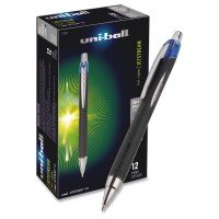 Uni-Ball Jetstream Gel Rollerball Pen - Blue (12 Pack)