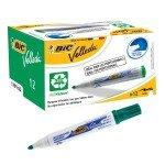 Bic Velleda Whiteboard Marker 1701 - Green (pk12)