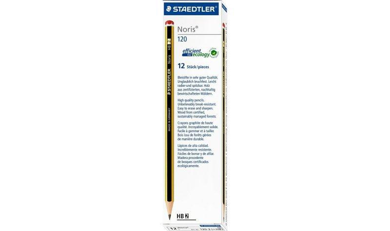 Staedtler Noris 120 HB Pencil (12 Pack)