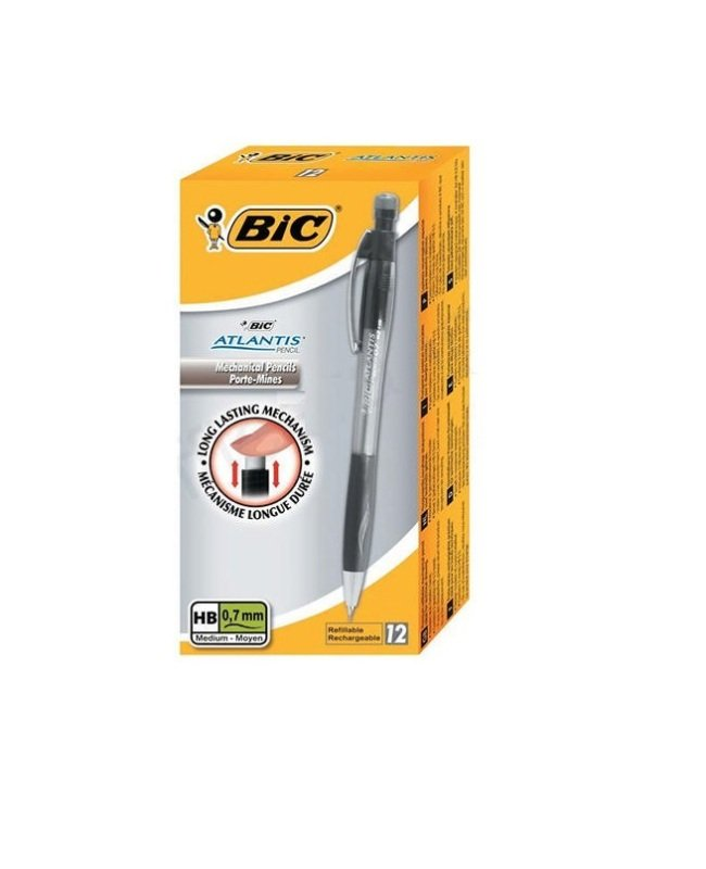 Bic Atlantis Mechnical Pencil 0.7mm 12 Pack