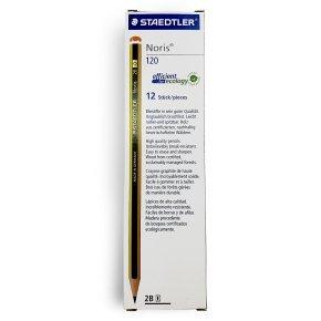 Staedtler Noris 120 Pencil 2B (12 Pack)