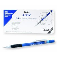 Pentel 120 Automatic Pencil 0.7mm Blue Barrel (12 Pack)