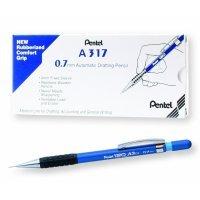 Pentel 120 Automatic Pencil 0.7mm Blue Barrel (12 Pack)
