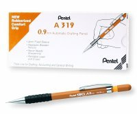 Pentel 120 Automatic Pencil Yellow Barrel (12 Pack )