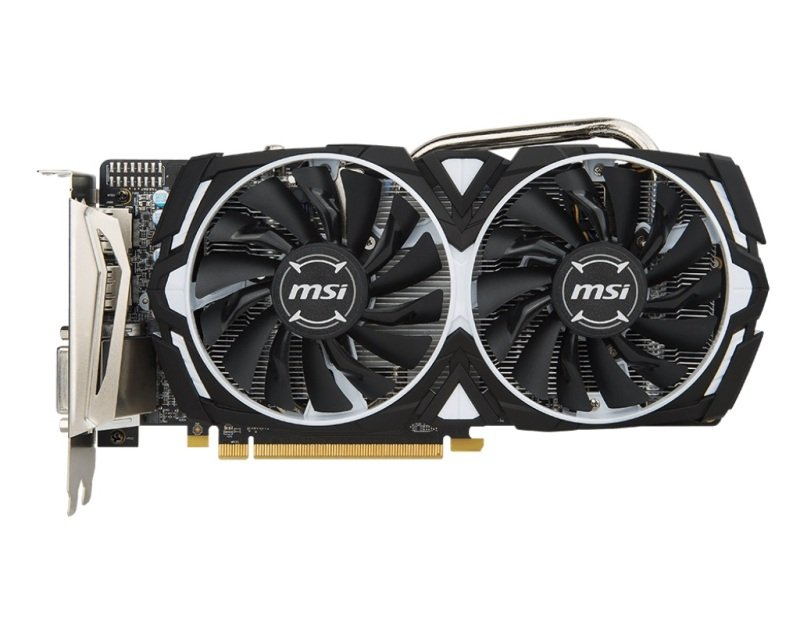 MSI RX 570 ARMOR 8GB OC GDDR5 Graphics Card
