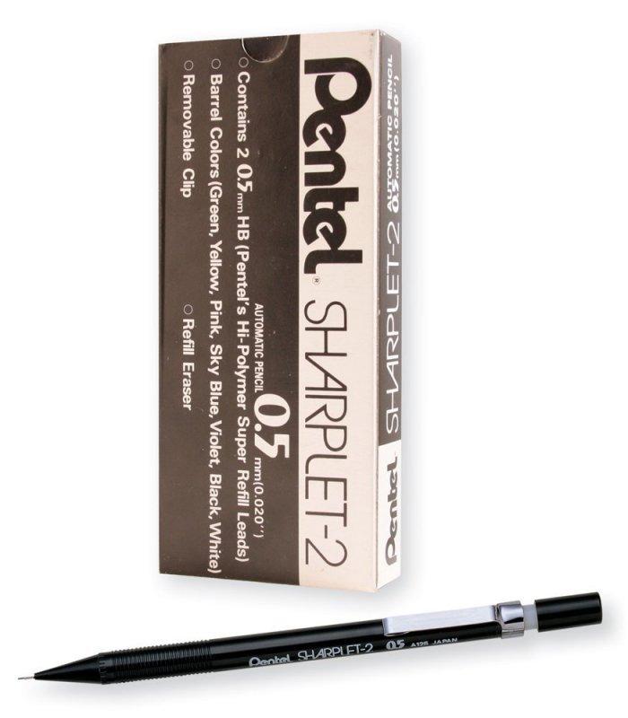 Pentel Sharplet-2 Automatic Pencils  (12 Pack)