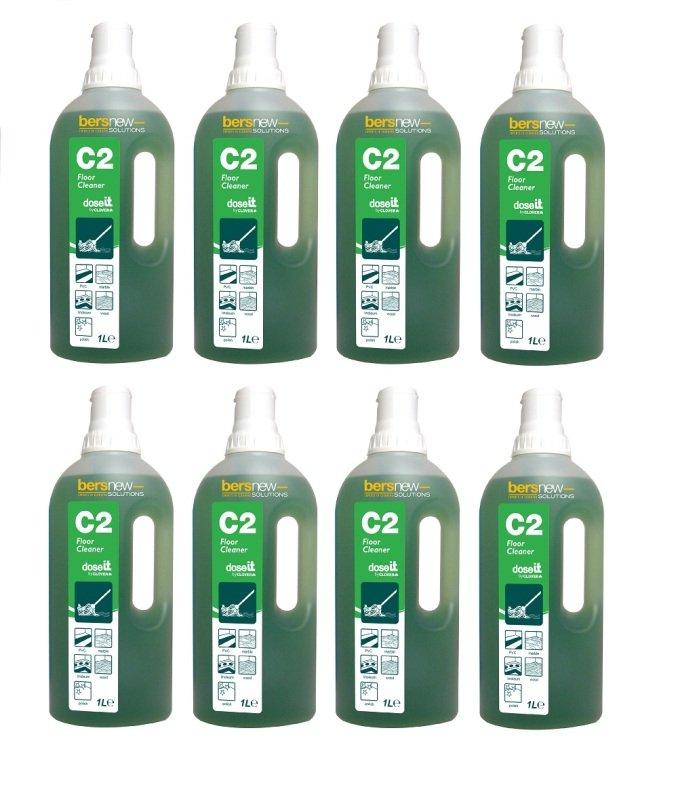 DoseIT C2 Floor Cleaner 1 Litre (Pack of 8)