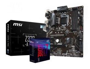 MSI Z370-A PRO Motherboard with i7-8700K Processor Bundle