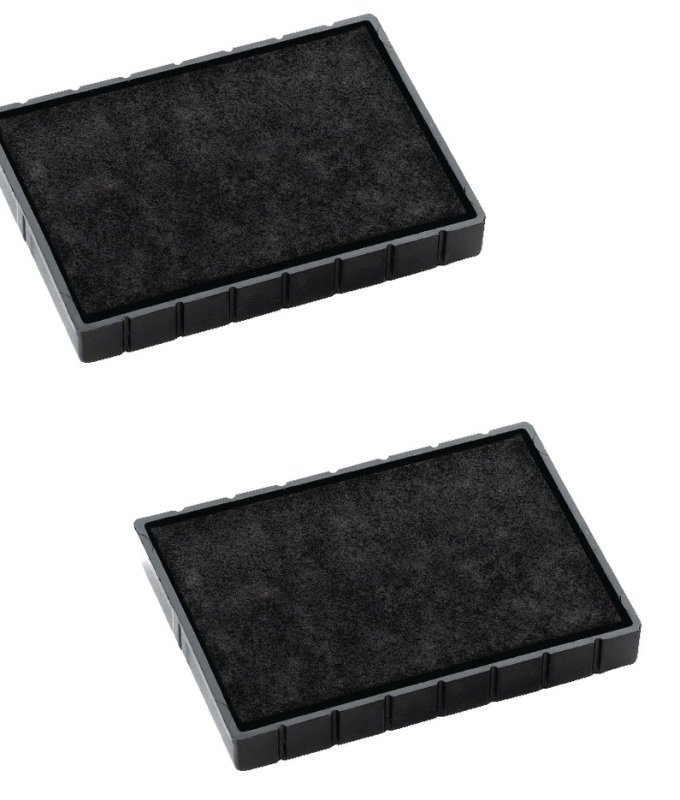 Colop E/38 Replacement Ink Pad Black (Pack of 2)
