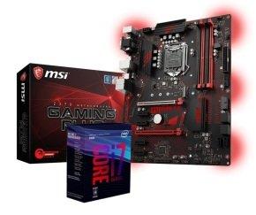 MSI Z370 GAMING PLUS Motherboard with i7-8700K Processor Bundle