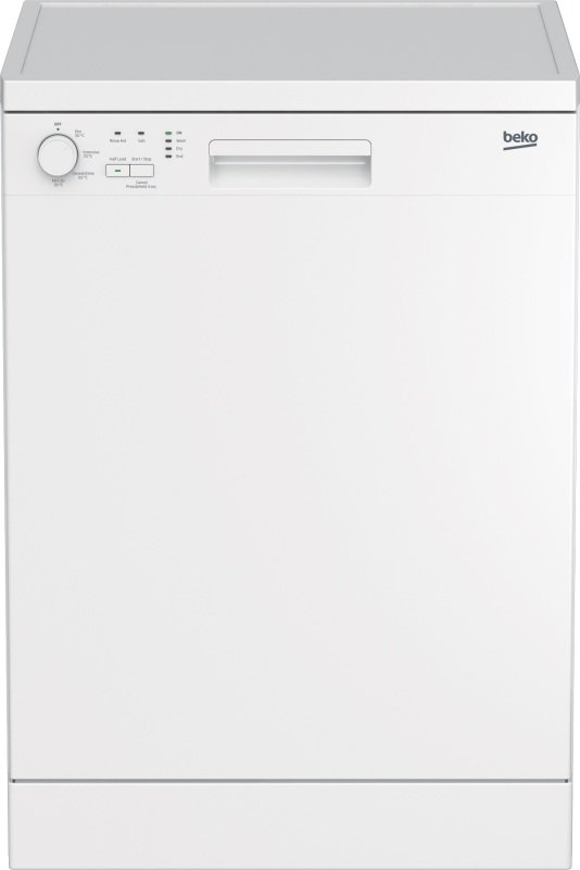 Beko DFN04210W Full Size Dishwasher - White