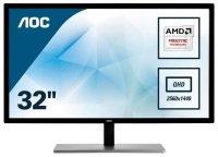 """AOC Q3279VWF 32"""" QHD LED Monitor"""