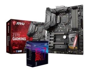 MSI Z370 GAMING M5 Motherboard with i7-8700K Processor Bundle