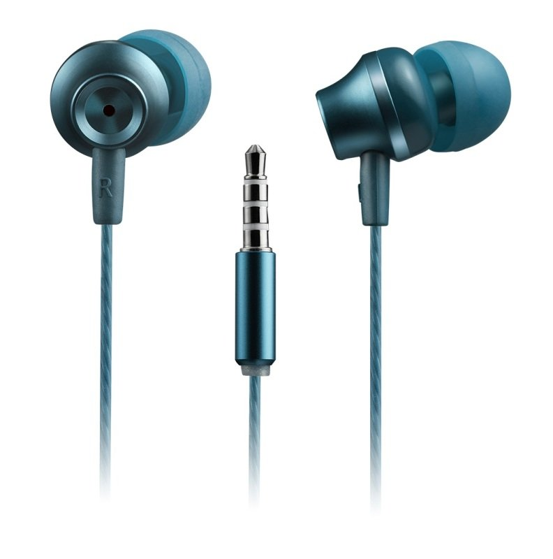 Canyon Green Jazzy Earphones with Microphone
