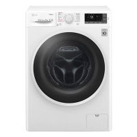 LG F4J6TY0WW 8kg 1400RPM, Spa Steam, Washing Machine - White