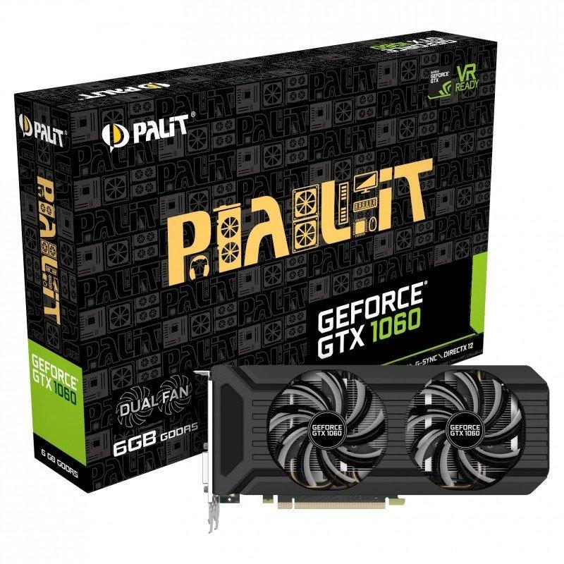 Palit GeForce GTX 1070 Dual 8GB GDDR5 Graphics Card