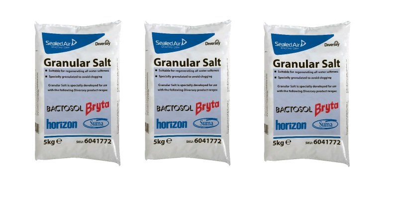 Diversey Granular Salt 5kg (Pack of 3)