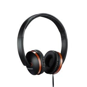 Canyon Black/Orange Stylish Foldable Headphones