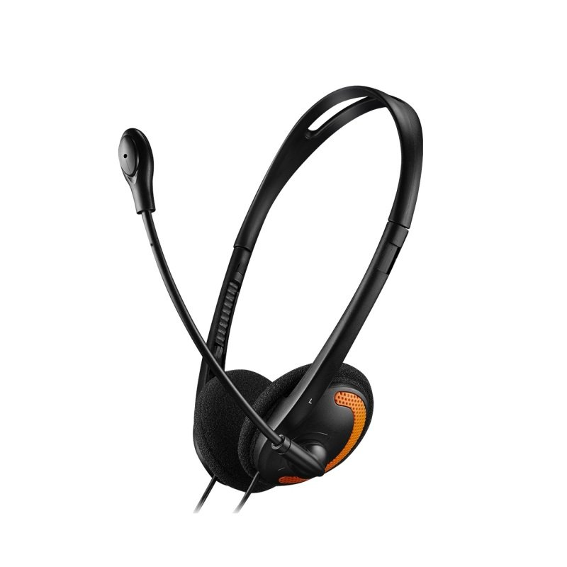 Canyon Black/Orange Stylish And Comfy Headset