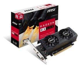 MSI RX 550 2GB OC LP GDDR5 Graphics Card