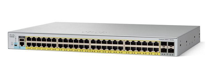 Cisco Catalyst 2960L-48PS-LL 48 Port Managed Switch