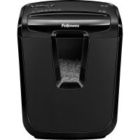 Fellowes M-7C Cross Cut Shredder - Black