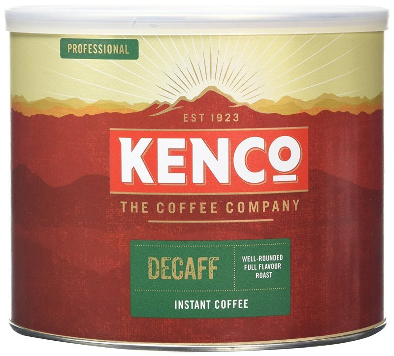 Image of Kenco Decaffeinated Freeze Dried Instant Coffee 500g 88633