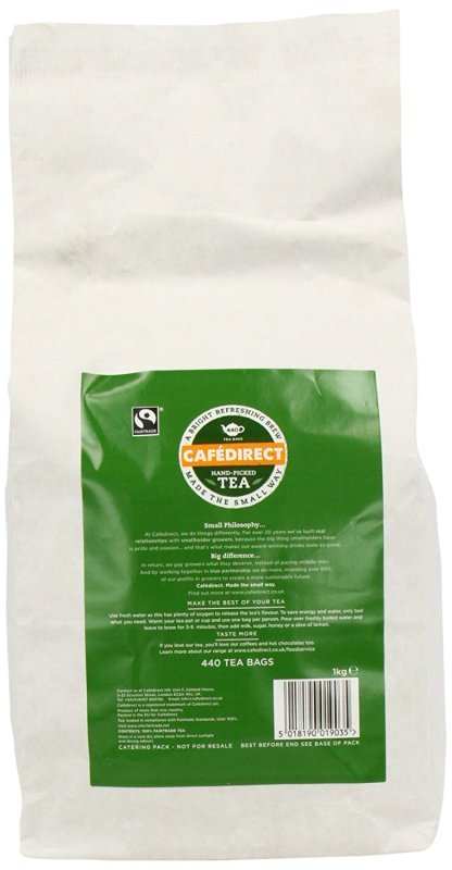 Image of Cafedirect Fairtrade Everyday Tea Bags (Pack of 440) FTB0010