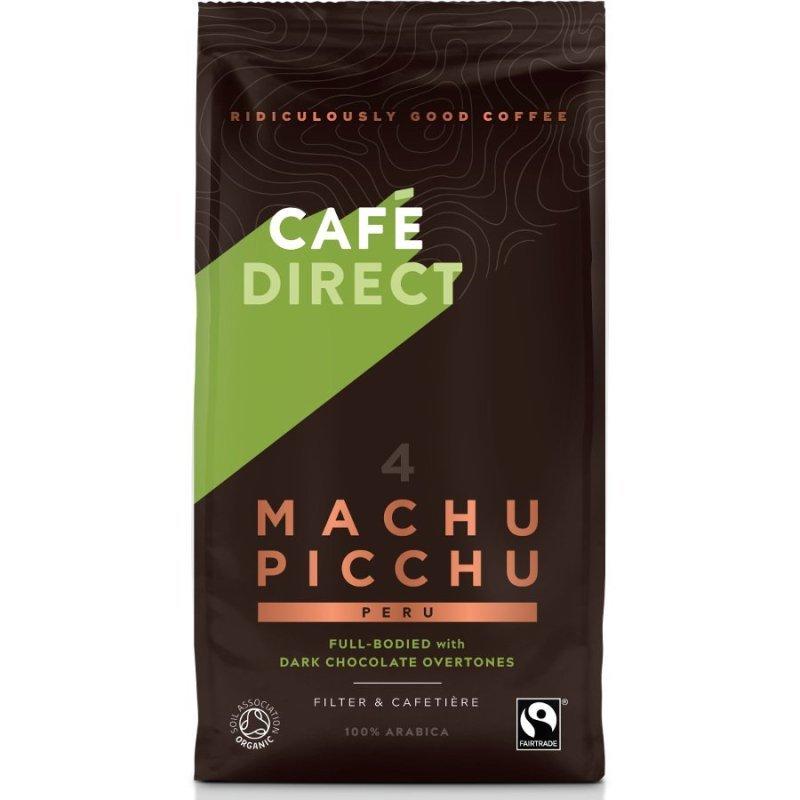 Image of Cafedirect Organic Ground Machu Picchu Coffee 227g TWI12026