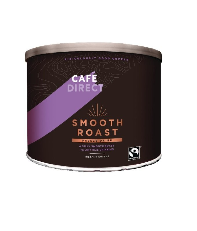 Image of Cafedirect Smooth Roast Freeze Dried Coffee Tin 500g TWI4101