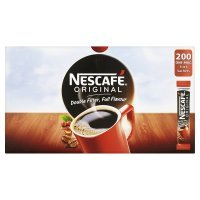 Nescafe One Cup Sticks Coffee Sachets (Pack of 200)