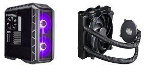 Coolermaster H500P Case + MasterLiquid 120 CPU Cooler