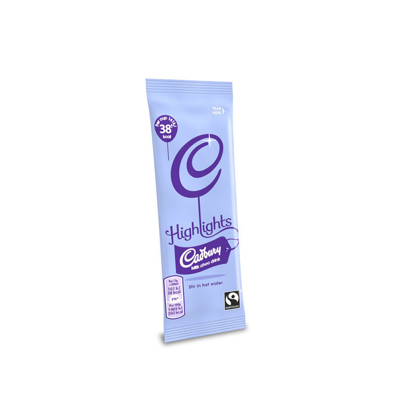 Image of Cadbury Highlights Instant Drinking Chocolate Sachet 11g (Pack of 30) A03334