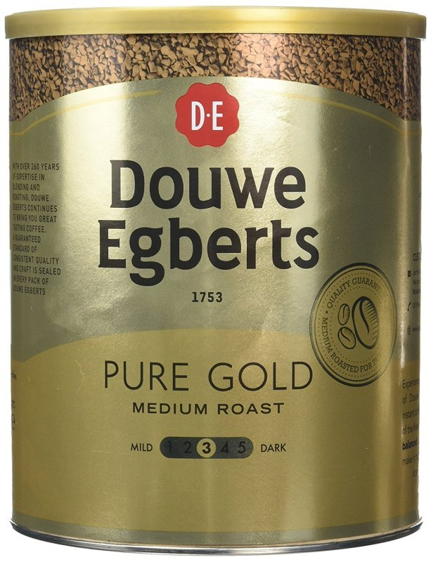 Image of Douwe Egberts Pure Gold Coffee - 750g